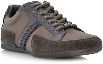 HUGO BOSS Spacit combo suede lace up trainers