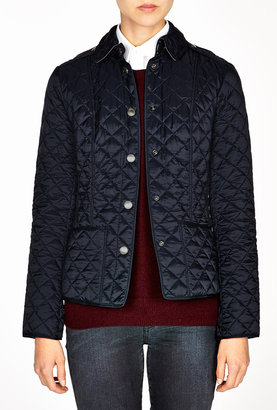 Burberry Cropped Quilted Jacket