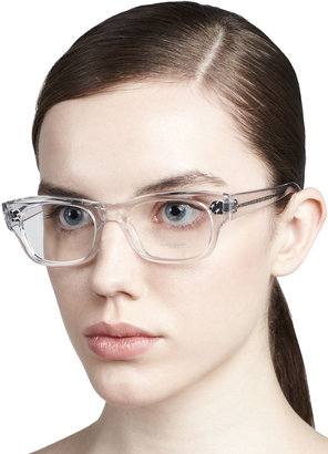 Oliver Peoples Bradford Clear Fashion Glasses, Crystal