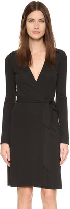 Diane von Furstenberg New Jeanne Two Wrap Dress $368 thestylecure.com