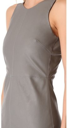 Myne Nash Faux Leather Dress