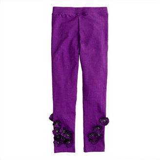 J.Crew Girls' everyday leggings in silk flower