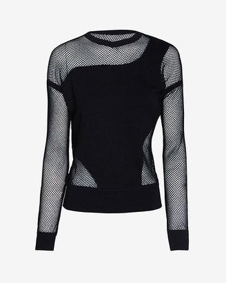 Ohne Titel Mesh Detail Sweatshirt: Black