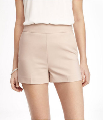 Express 2 1/2 Inch High Rise Side Zip Shorts