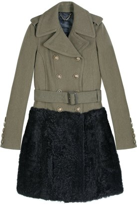 Burberry Military Doeskin Great Coat