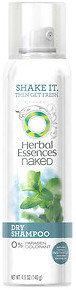 Herbal Essences Naked Dry Shampoo, Grapefruit & Mint
