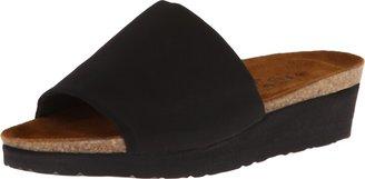 Naot Footwear Women's Alana Sandal Black Stretch 5 M US