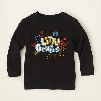 Children's Place Little genius graphic tee