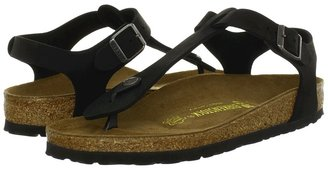 Birkenstock Cairo Oiled Leather (Black Oiled Leather) - Footwear