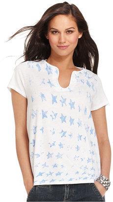 Calvin Klein Jeans Top, Short-Sleeve Printed