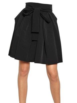 Lanvin Techno Gabardine Skirt