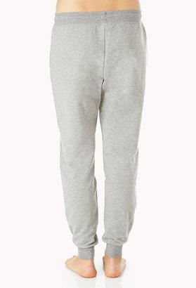 Forever 21 Cozy Heathered PJ Sweatpants