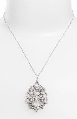 Nina 'Eden' Crystal Pendant Necklace