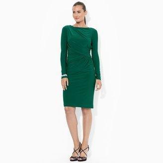 Ralph Lauren Long-Sleeved Jersey Dress
