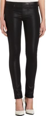 Helmut Lang Coated Denim Leggings