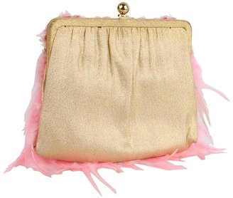 Inspired by Claire Jane Femme Fatale Feather Purse
