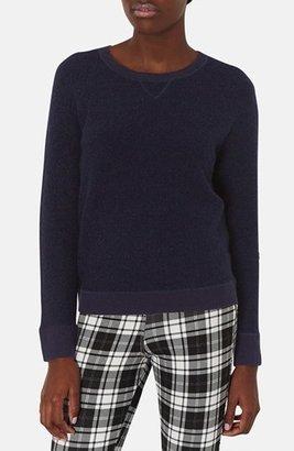Topshop Bouclé Sweater