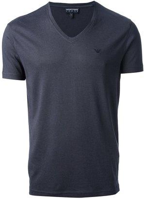 Emporio Armani Jeans v-neck t-shirt