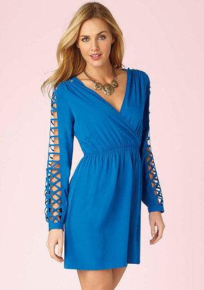 Alloy Pinky Alexia Lattice Dress