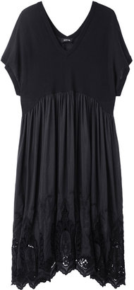 Zucca Embroidered Lace Dress