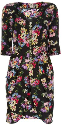 Ungaro Vintage floral print dress