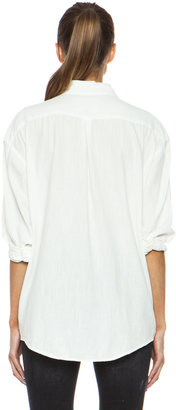 R 13 Cotton Oversized Shirt
