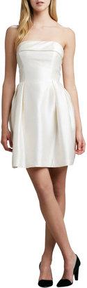 Shoshanna Strapless Party Dress, Ivory