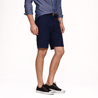 "J.Crew 9"" Stanton short in space-dyed stripe"