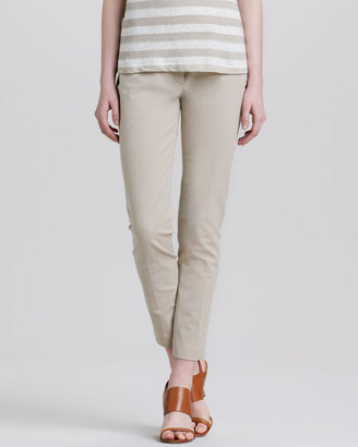Theory Leska Slim Twill Trousers