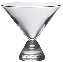 Simon Pearce Westport Stemless Martini Glass