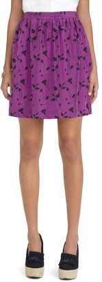 Brooks Brothers Dainty Floral Print Skirt