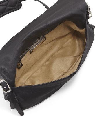 Jimmy Choo Biker Small Crossbody Bag, Black