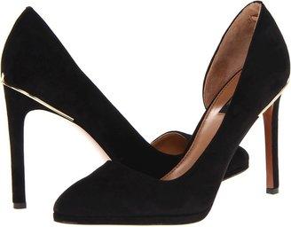 Rachel Zoe Vanessa (Black Suede) - Footwear