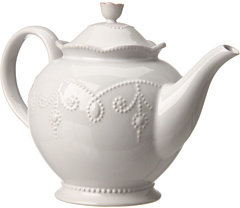 Lenox French Perle Teapot