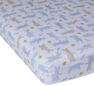 Lambs & Ivy Peter Rabbit Crib Sheet by