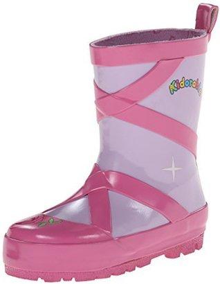 Kidorable Kid's Pink Ballerina Rain Boots