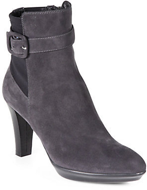 Aquatalia by Marvin K Rexana Suede Platform Ankle Boots