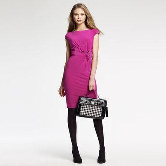 Anne Klein Enamel Brooch Dress