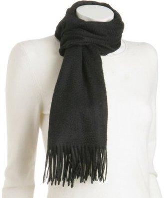 Kashmere black cashmere scarf