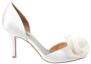 Badgley Mischka Thora Satin Pumps