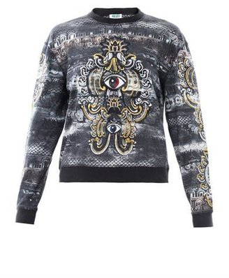 Kenzo Lotus eye cotton sweatshirt
