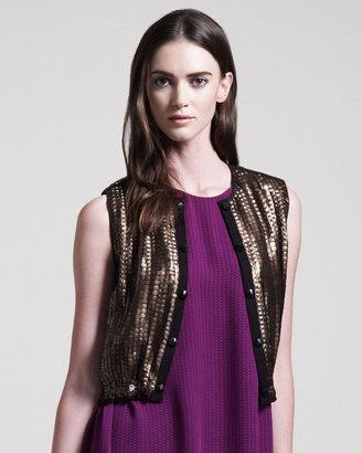 Kelly Wearstler Sequined Jazz Vest