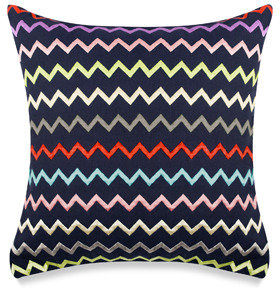Kate Spade Brightwater Avenue Zigzag Square Toss Pillow