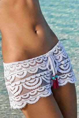 PilyQ Bahama White Shorts $72 thestylecure.com