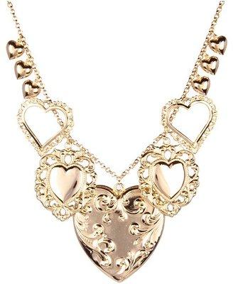 Emily Elizabeth Jewelry - Big Love Necklace (14K Gold Plated) - Jewelry