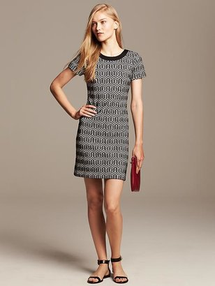 Banana Republic Jacquard Tee Dress
