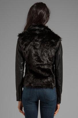 Blank NYC BLANKNYC Shaggy Faux Fur Jacket