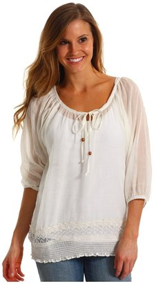 Roxy Gold Fields Top (Seaspray) - Apparel