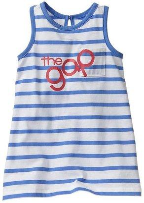 Gap Logo stripe dress