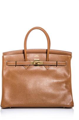 Hermes Vintage Courchevel 35 Birkin bag